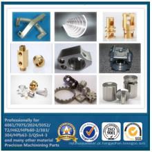 Produtos diferentes dos serviços de engenharia da precisão do CNC do costume das cores 6004