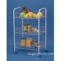 3 Tier Rolling Storage Cart