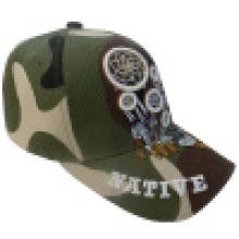 Bonnet de baseball avec tissu de camouflage Bb245