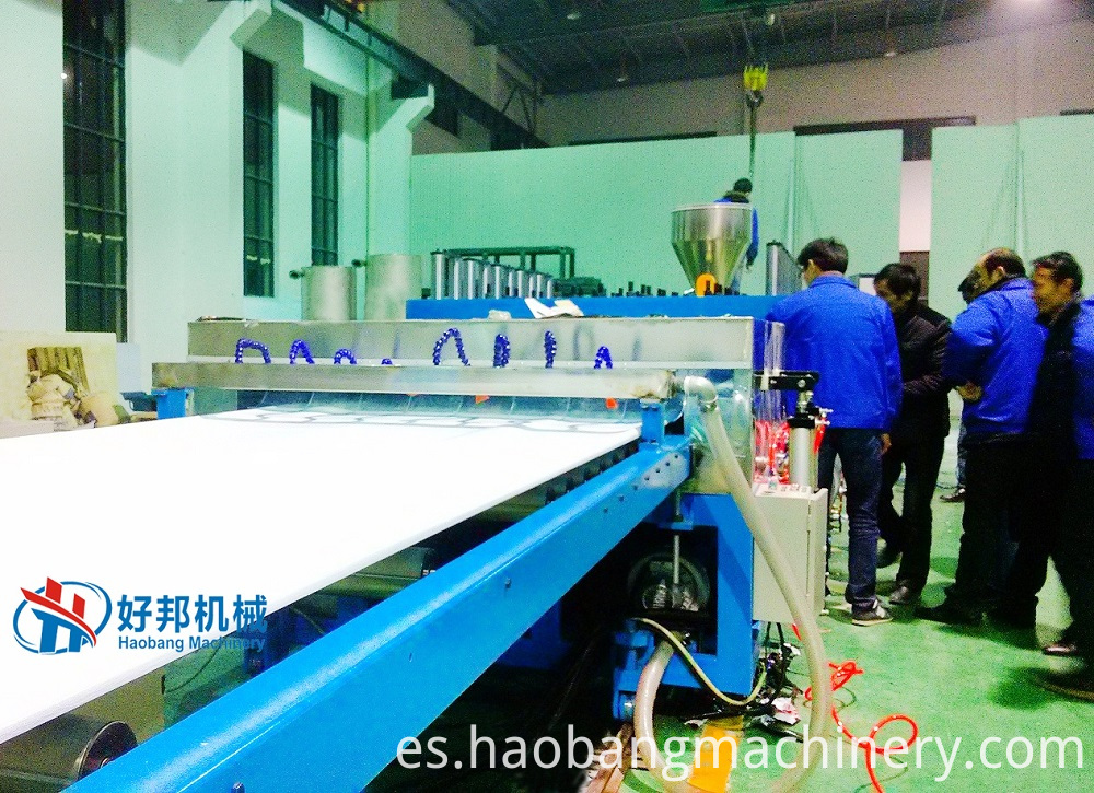 Pvc Foam Board Machine Running Test