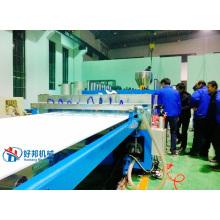 Linha de produção de placa de madeira plástica