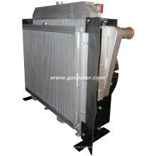 Komplettes Kühlsystem aus Aluminium für Lader (C890)