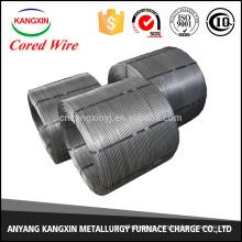 HOT Selling Cored Wire CaSi para la fabricación de acero