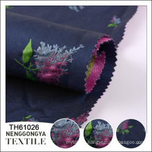 Top quality Professional soft yarn dyed flower jacquard fabric
