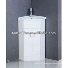 British Corner Bathroom Vanity/Cabinet High Moisture Resistant cabinet
