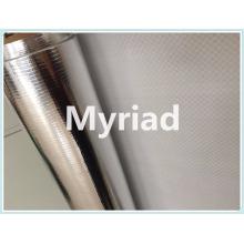 Película de aislamiento de tejido de PE de aluminio metalizado