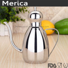 Stainless Steel Olive Oil Bottle with Handle