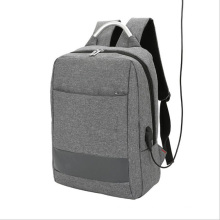 Newest style large capacity business waterproof polyester custom USB laptop smart backpack