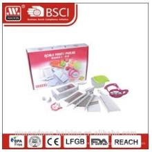 Plastic grater set for houseware,apple cutter