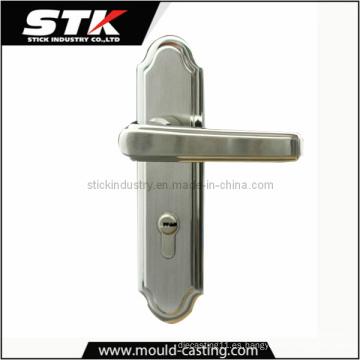 Manija de puerta de aleación de zinc por fundición a presión (STK-14-Z0036)