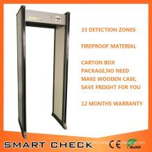 Secugate 650I 33 Zones Anti-Theft Door Frame Metal Detector Walk Through Metal Detector