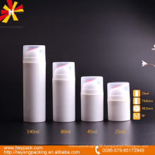 plastic bottle 30ml 40ml 80ml 140ml airless bottle