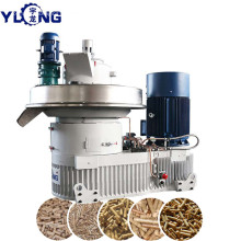 YULONG XGJ560 pellet machine to press poplar pellets