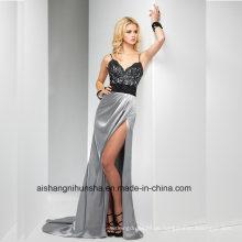Frauen-Spitze Sleeveless Backless Abend-Partei-Abschlussball-Kleid