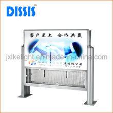 Large Effective Area Outdoor Insect Trap with Advertisement
