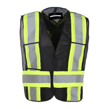 High Visibility Safety Vest with Pockets