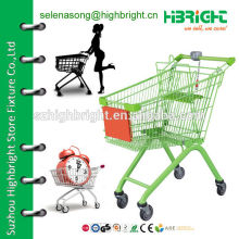 Metal Wire Shopping Trolley Cart