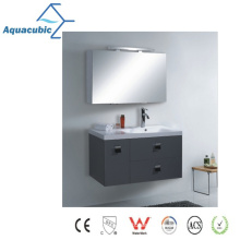 Classic Wall-Mounted Mirrored Bathroom Cabinet (AME1103)