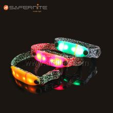 Nylon High Bright Led Glow Luminescent Dog Collar