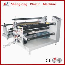 Machine à découper en rouleaux de tissu électrique et non tissé (DP-1600)