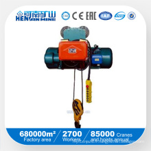 Kuangshan Brand Wire Rope Electric Hoist à vendre