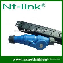 Shenzhen Netlink Alimentation de courant fiable haute qualité PDU à 6 voies