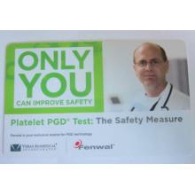Cartão do PVC