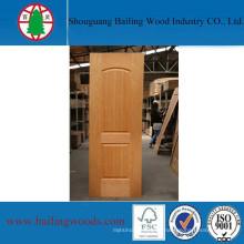Piel moldeada de madera contrachapada chapada en madera natural