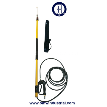 18ft Pressure Washer telescopico bacchetta con supporto da cintura