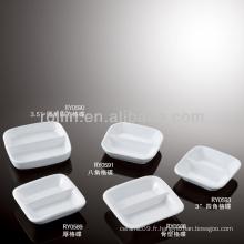 Four à porcelaine blanc durable sain et asséché