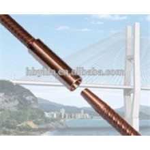 Cost effective rebar taper thread coupler for construction