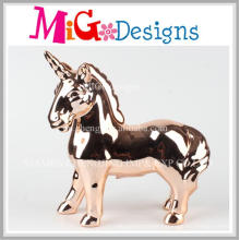 Ceramic Standing Unicorn Piggy Coin Bank Money Bank