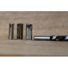 Crimpado de metal para el cinturón / cordón metálico para cordones / cordones de metal para el cinturón