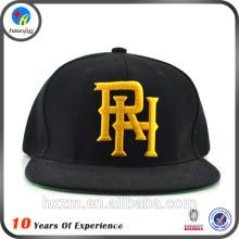 simple snapback cap hip hop flat bill cap