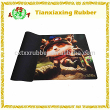 LOL Figure Mouse Pad, Teemo Figure Game Mat, Rubber Mouse Pad