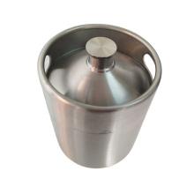Stainless steel beer keg for storage of beer / wine / alcohol