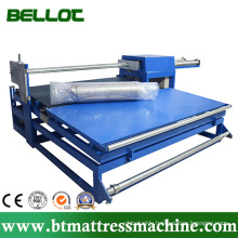 Semi-Automatic Mattress Roll Packing or Wrapping Machine