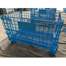 Mesh Container Secure Cage for Warehouse