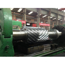 High Quality Double Helical Gear Shaft