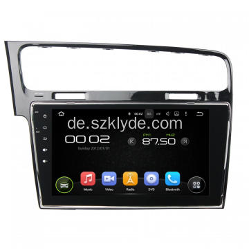 VW Golf 7 Auto DVD Navigation
