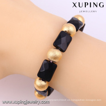 Brazaletes de pulseras con cuentas de moda Xuping con brazaletes de oro de 18k -51490