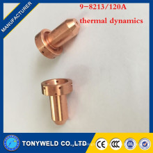 Copper 9-8213 120A welding contact tip for thermal dynamics