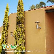 Pilier d'axée sur le solaire rechargeable de CE léger pour lumière de jardin pelouse lampe; Pelouse light(JR-2602-1)