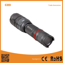 C89 Rechargeable Diving Light Wateroroof LED Diving Flashlight