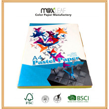 A4 80GSM Pastel Color Copy Paper for Printing