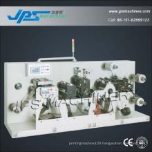 Jps-320s Self-Adhesive Preprinted Label Intermittent Slitting & Rotary Die Cutting Machine