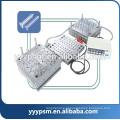 Molde de injeção de seringa plástica de equipamentos médicos descartáveis