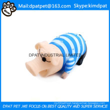 China Pet Products Latex Pink Pig Dog Toy