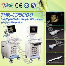 Máquina de ultrassom Doppler em cores 4D