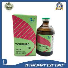 Médicaments vétérinaires de 10% d'injection d'enrofloxacine (50 ml / 100 ml)